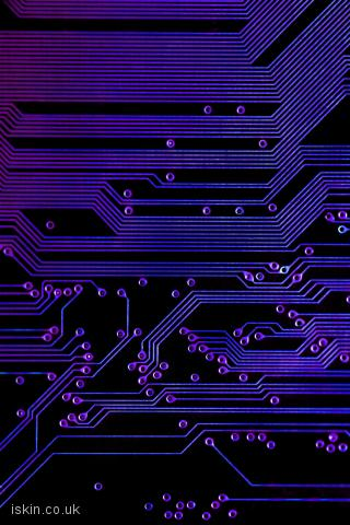 iphone landscape wallpaper printed circuit board