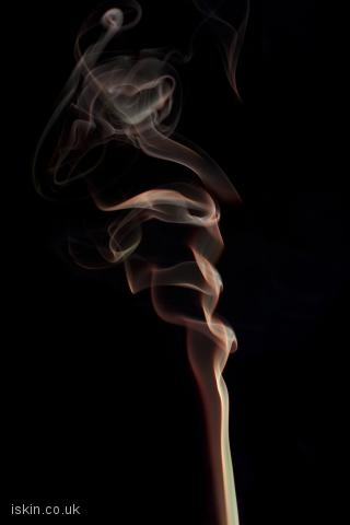 iphone landscape wallpaper smoke abstract