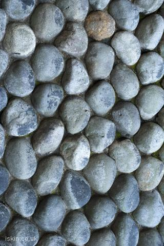 iphone landscape wallpaper cobble stones