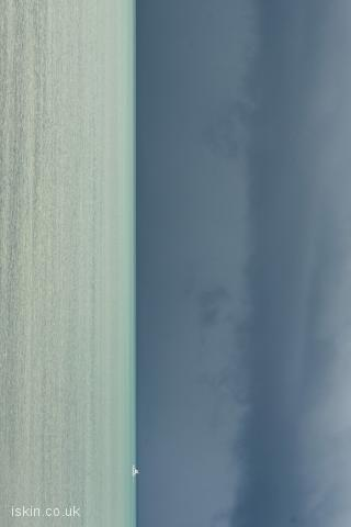 iphone landscape wallpaper stormy ocean