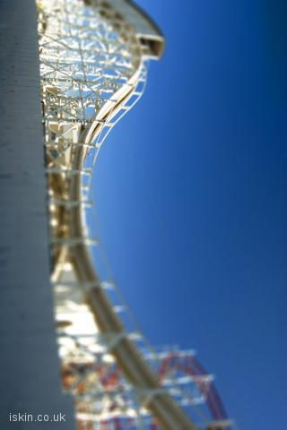 iphone landscape wallpaper Rollercoaster Ride
