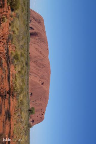 iphone landscape wallpaper Uluru