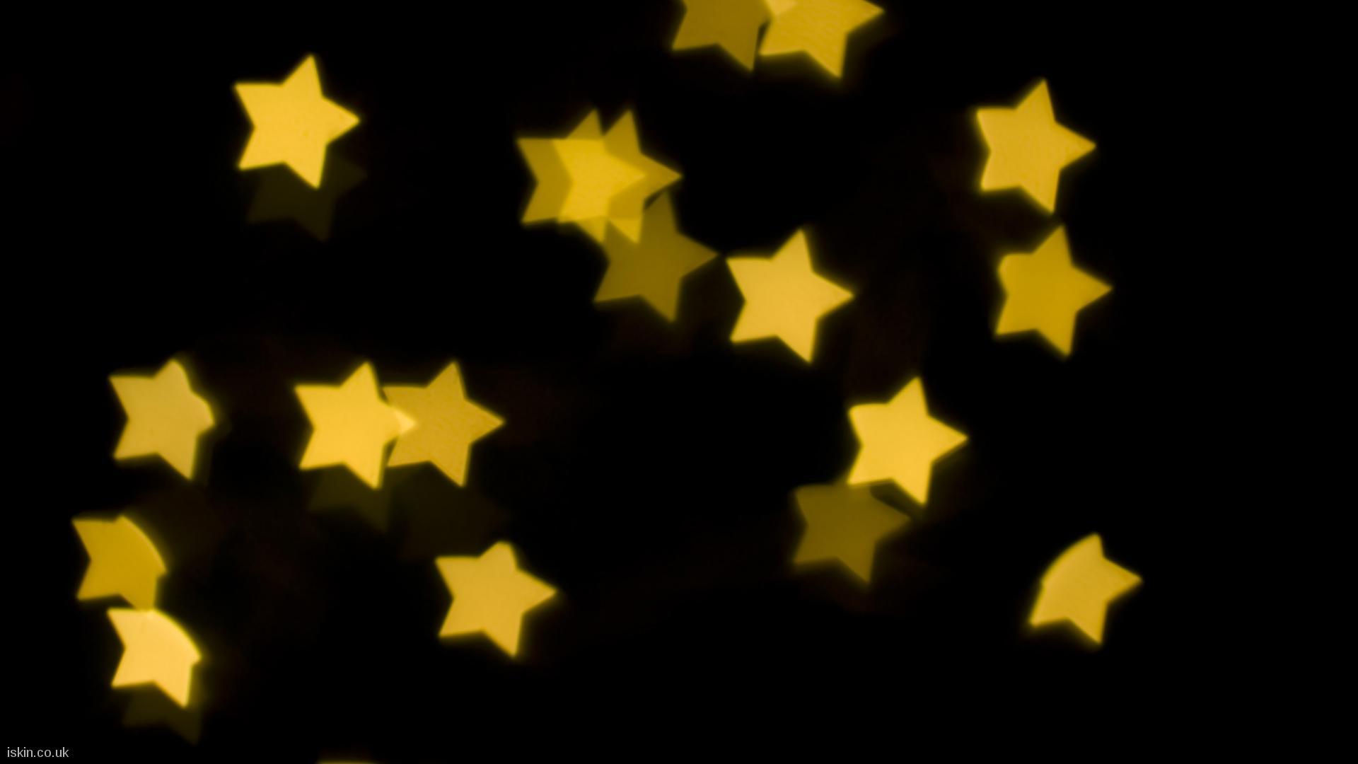 Yellow Stars Desktop Wallpaper Iskin Co Uk